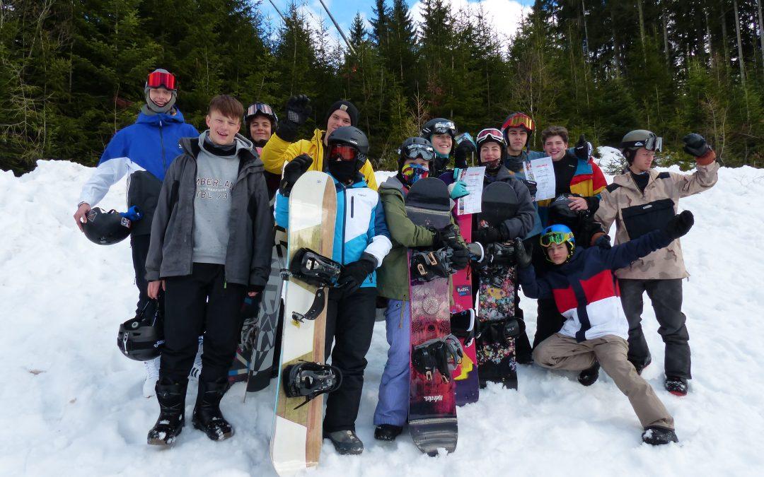 Landesmeisterschaften Snowboard: ein Erfolg!