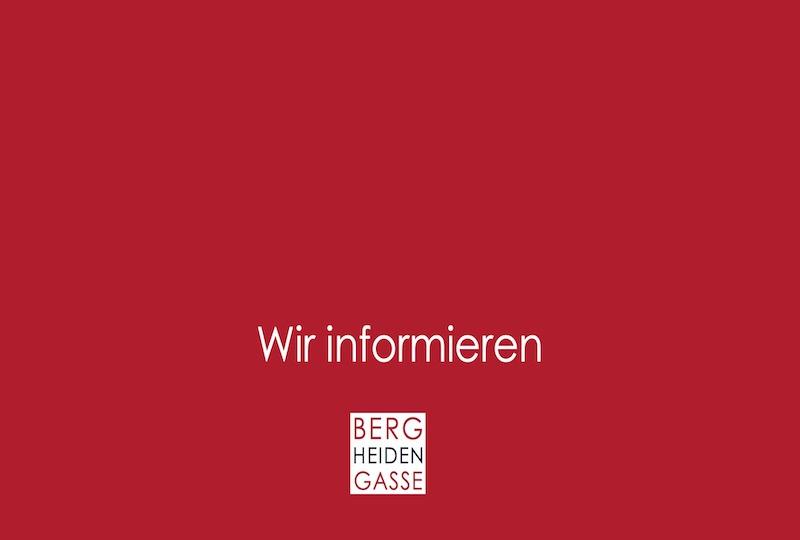INFORMATIONEN DER BERGHEIDENGASSE ZU COVID-19