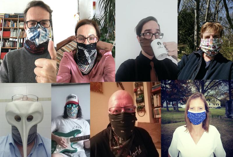 Maskenhitparade Bergheidengasse in Zeiten von Corona