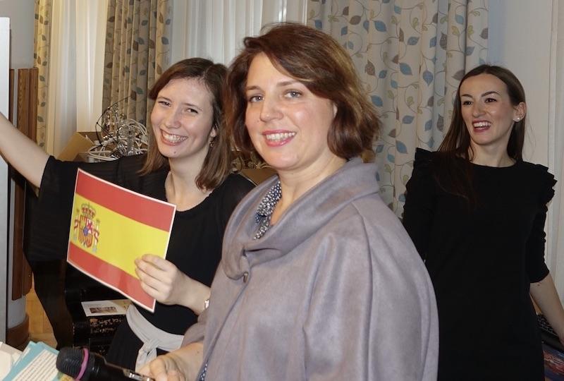 Sprachlehrerinnen-Team beim Fremdsprachenwettbewerb